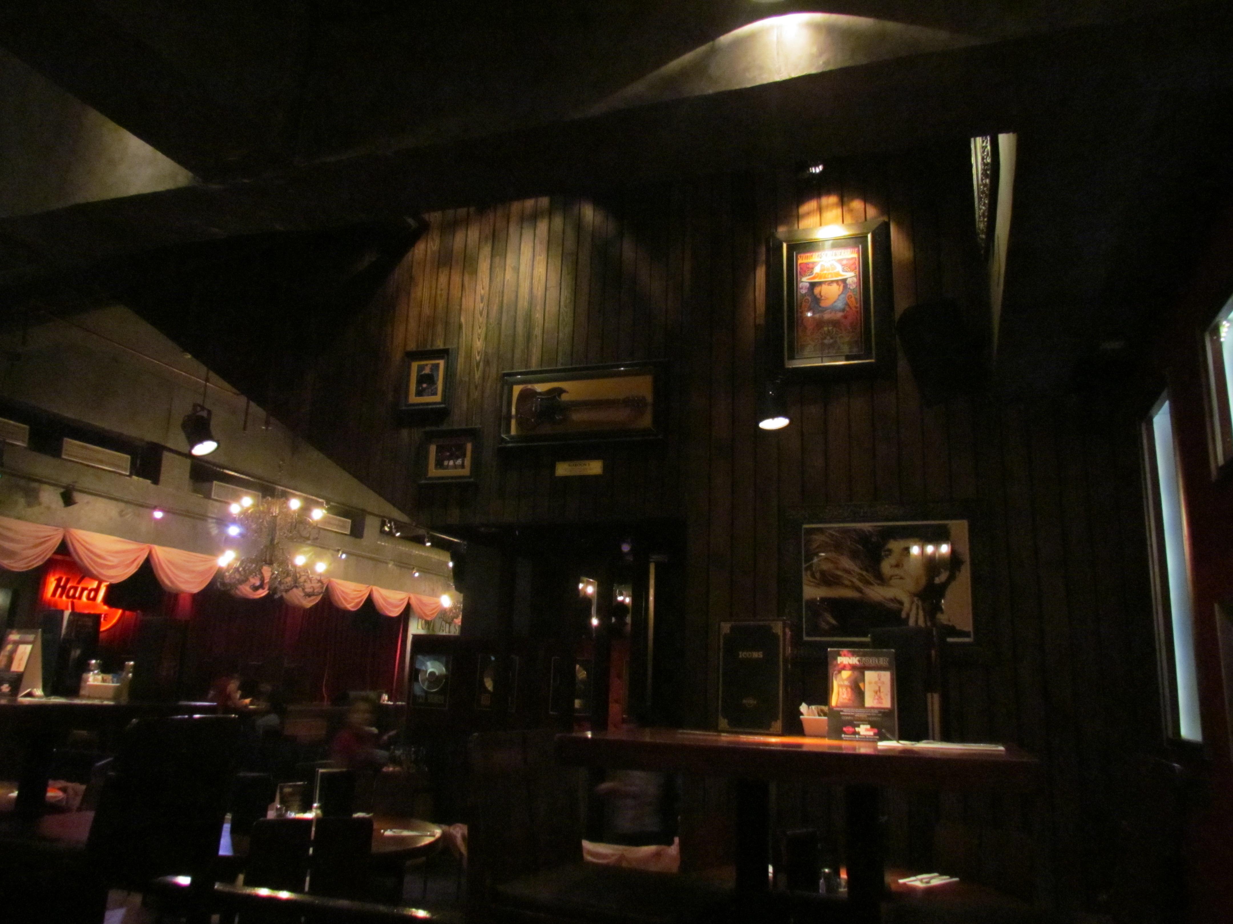 Menu Of Hard Rock Cafe Saket