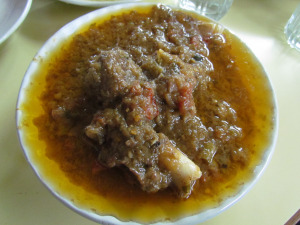 Lipsmacking good mutton stew at old Jawahar