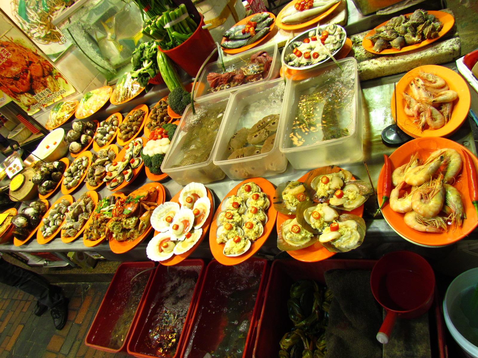 Hong Kong Seafood Restaurant Menu