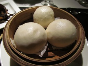 Sweet dimsum at Royal China New Delhi.