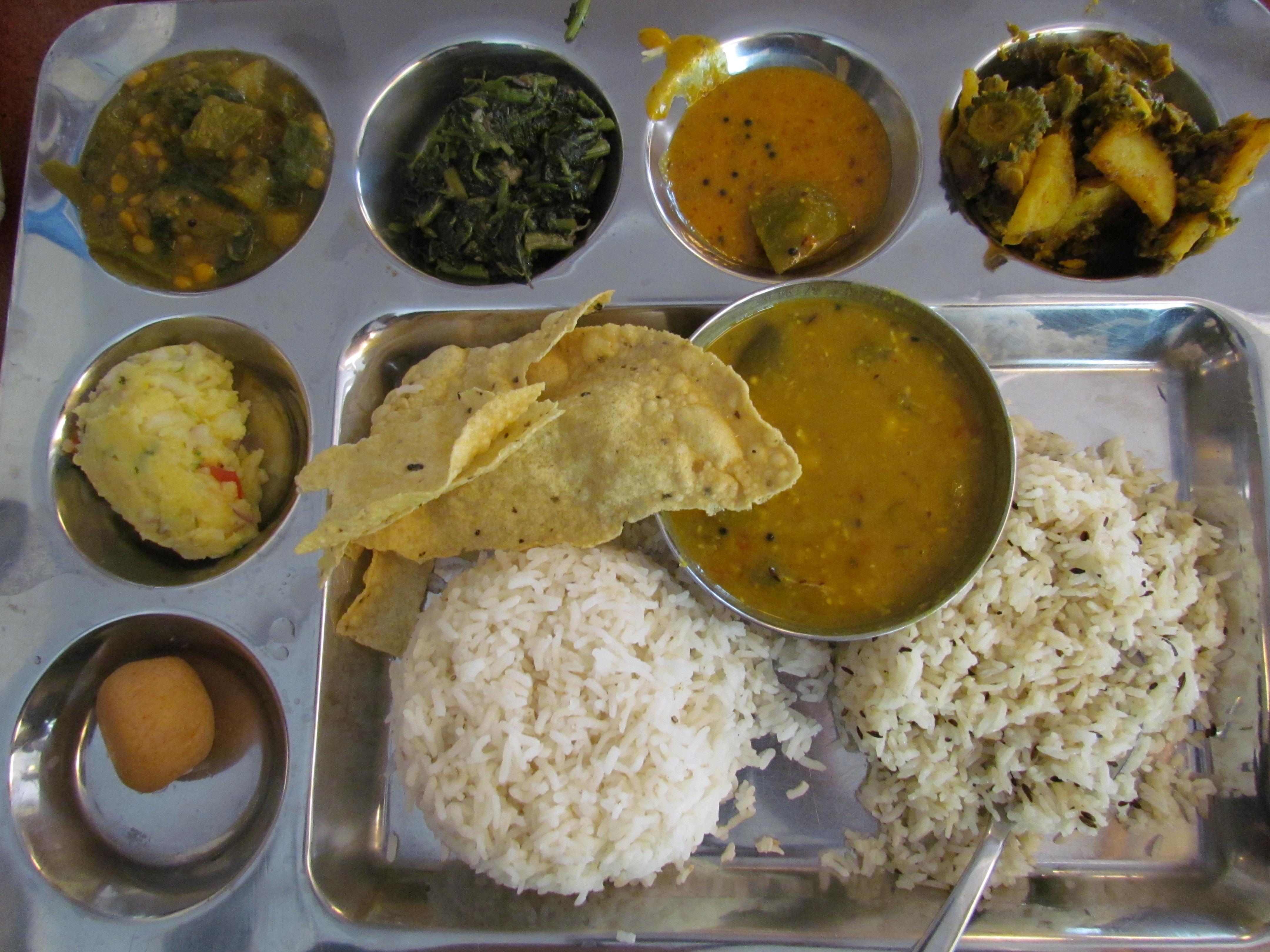 Dalma odisa niwas chanakyapuri new delhi yummraj vegetarian oriya thali forumfinder Choice Image