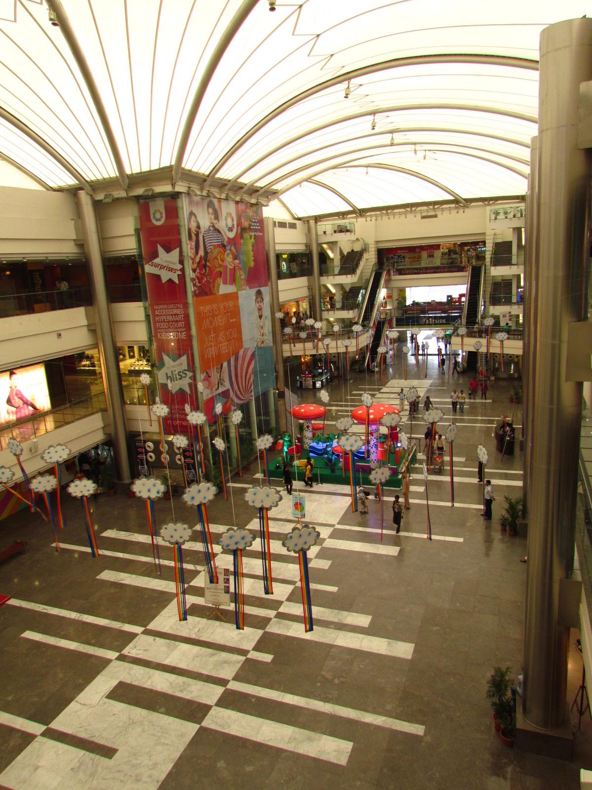 The mezze grill food court magic moments mall kirti