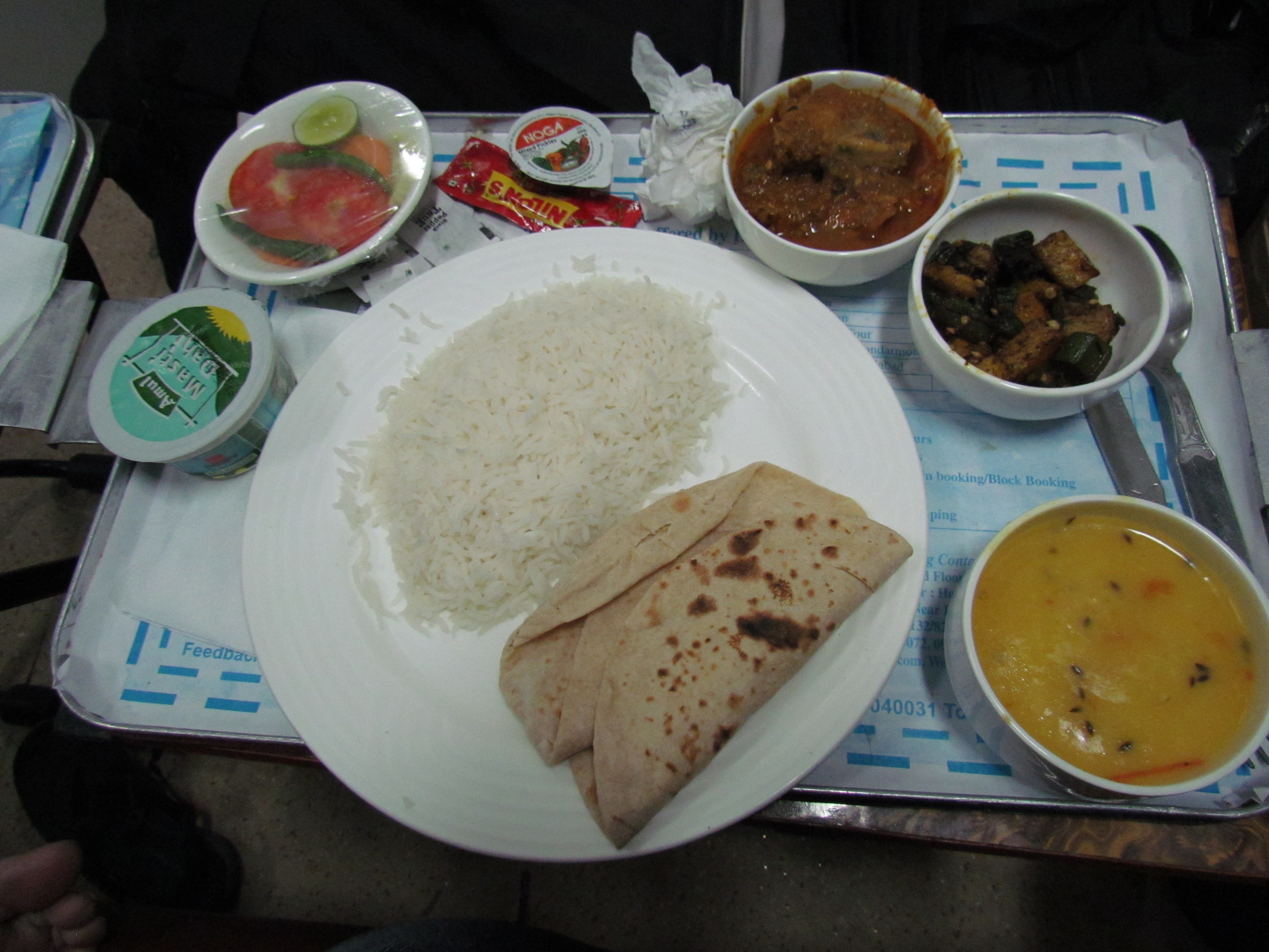 Food Aboard Ac 1st Class Duronto Train Amp The Travel