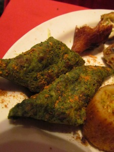 Subz Sheekh Kabab