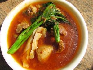 pork bamboo shoot - naga style
