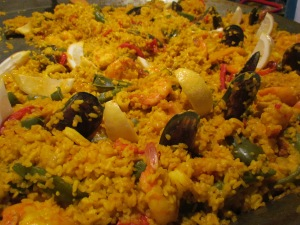 Seafood Paella - Spanish Khichdi u can say, at Olive Kitchens stall