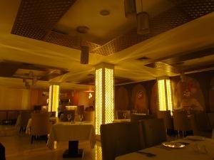 Dining hall of