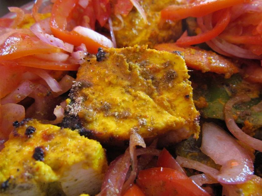Superb Paneer Tikkas freshly tandoored & served