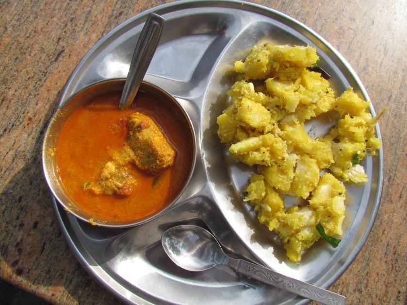 Fish curry & Kappa