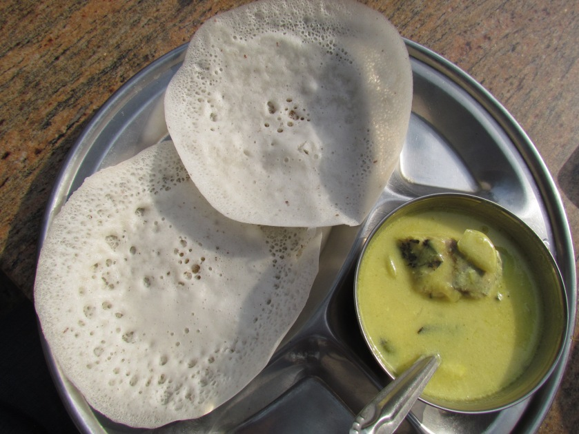 Fish Moilee & appam