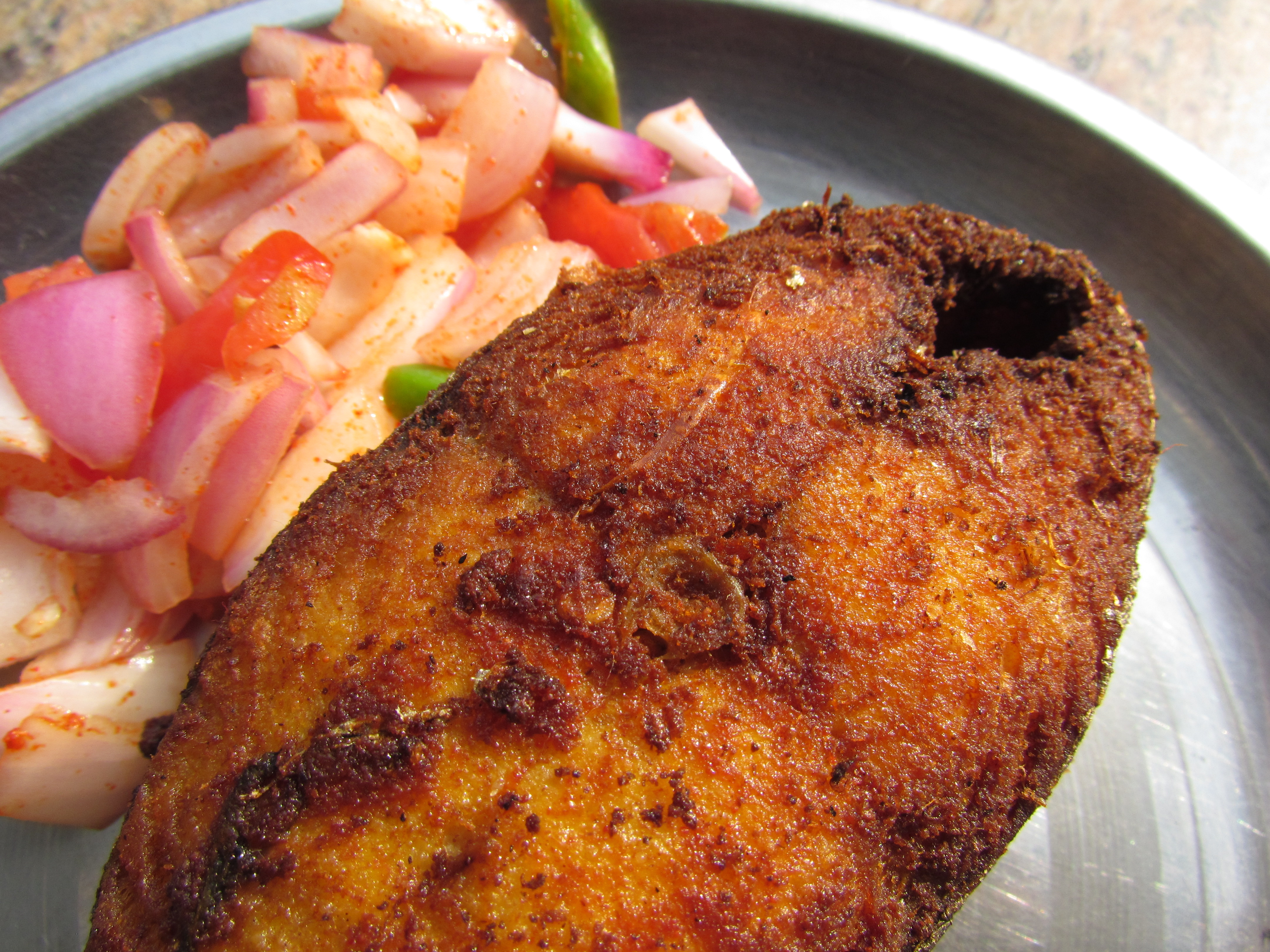 how to fry thick fish fillets to avoid rubber