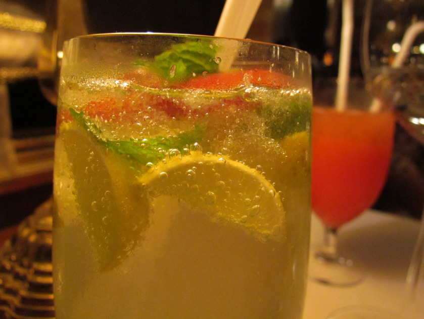 mixed Citrus fruit drink