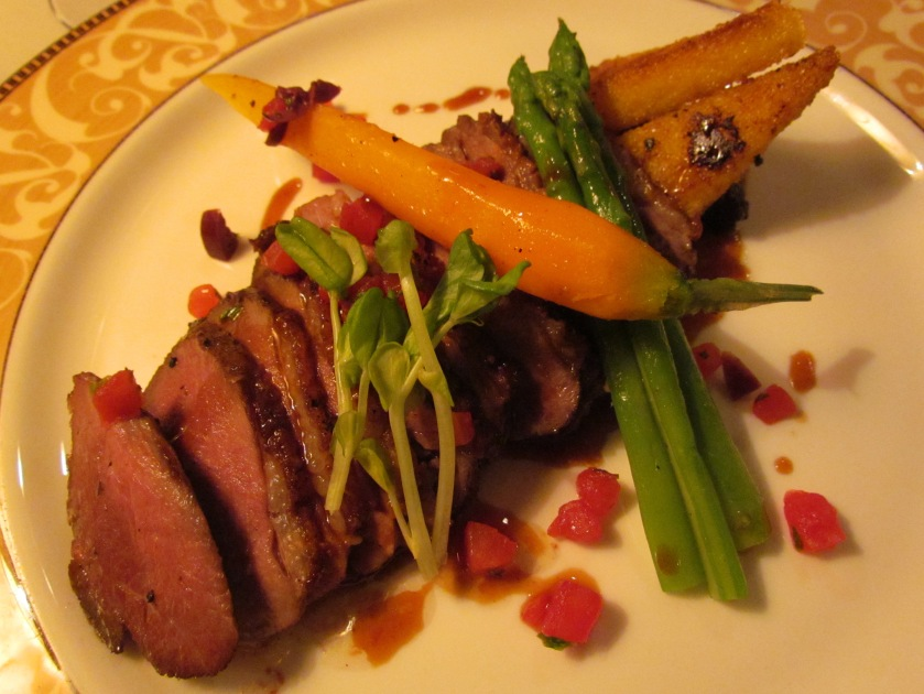 Roasted  Barbary Duck Breast