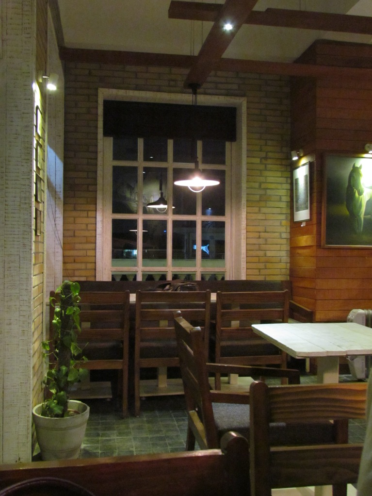 A corner of the cafe