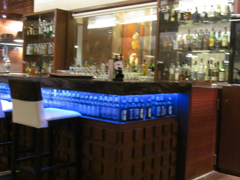 Bar area in one side of the Dining Hall