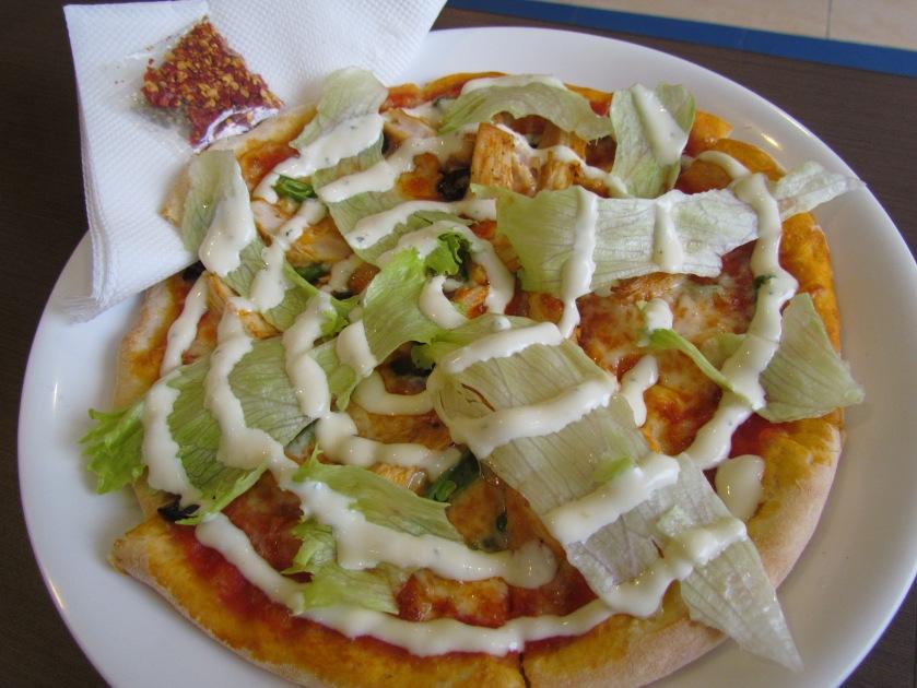 thin crust Greek Pizza