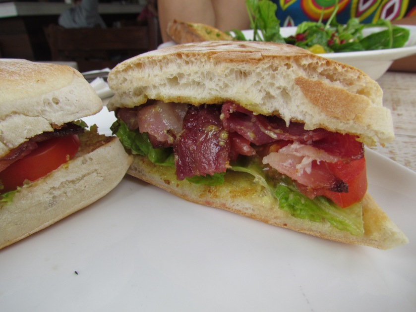 lickilicious sandwiches - made with inhouse baked bread, fresh ingredients & amazing bacon