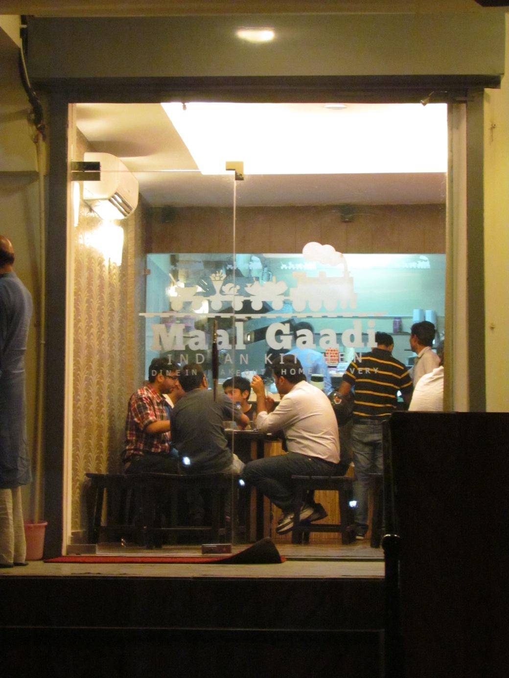 Image result for maal gaadi restaurant gurgaon