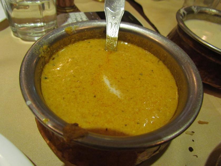 salan served with Hyderabadi mutton Biryani