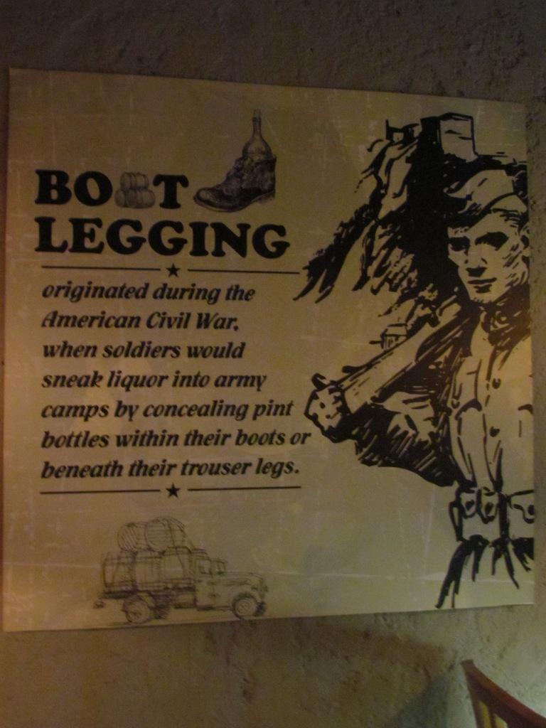 History of Boot-legging