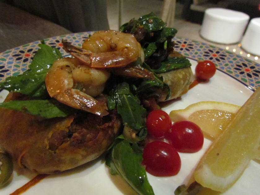 Moroccan Phylo pastry dish