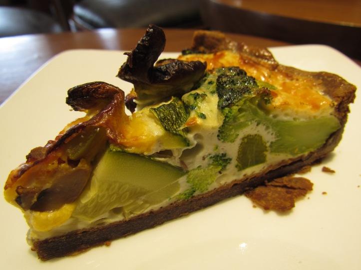 Garden Vegetable Quiche