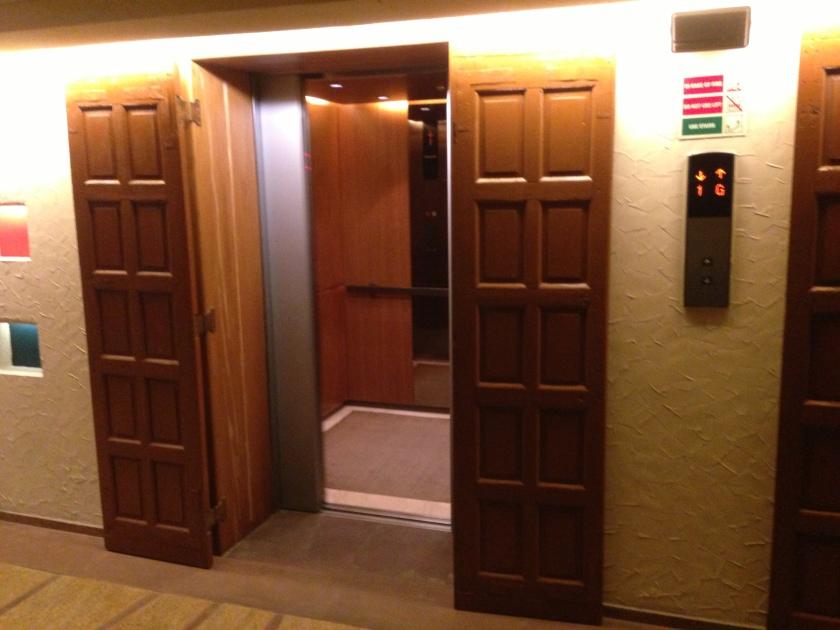 lift door