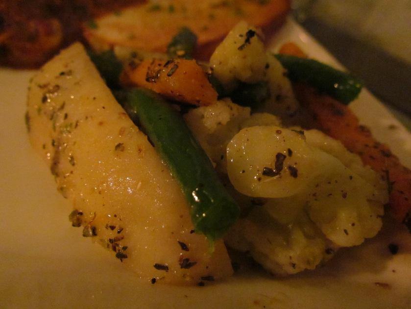assorted veggies with Agnello di fungo