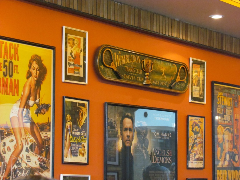 Walls full of Movie posters