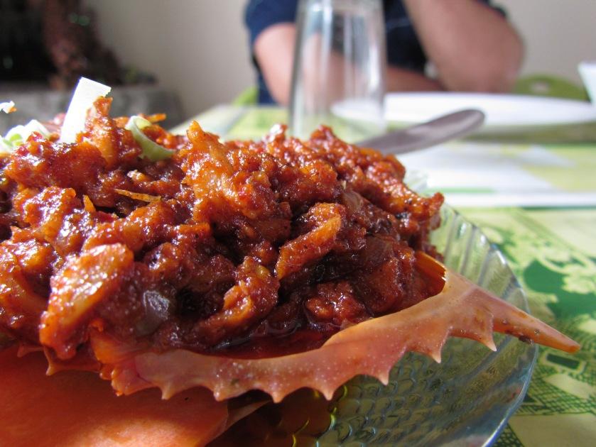 Chilli Crab curry
