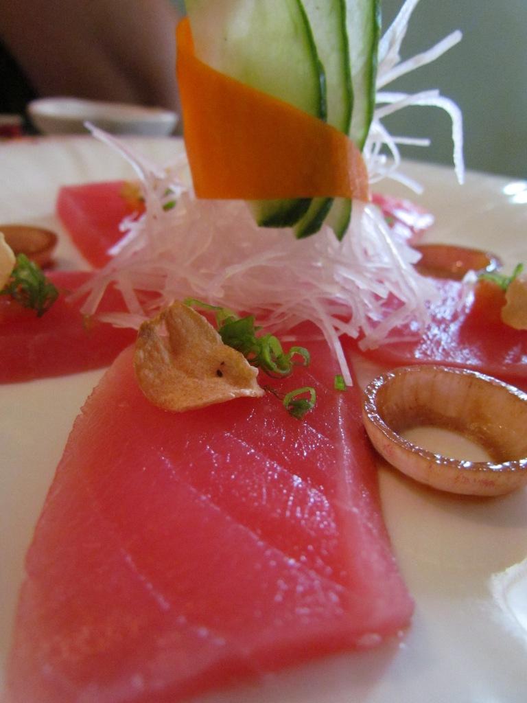 Andaman tuna sashimi