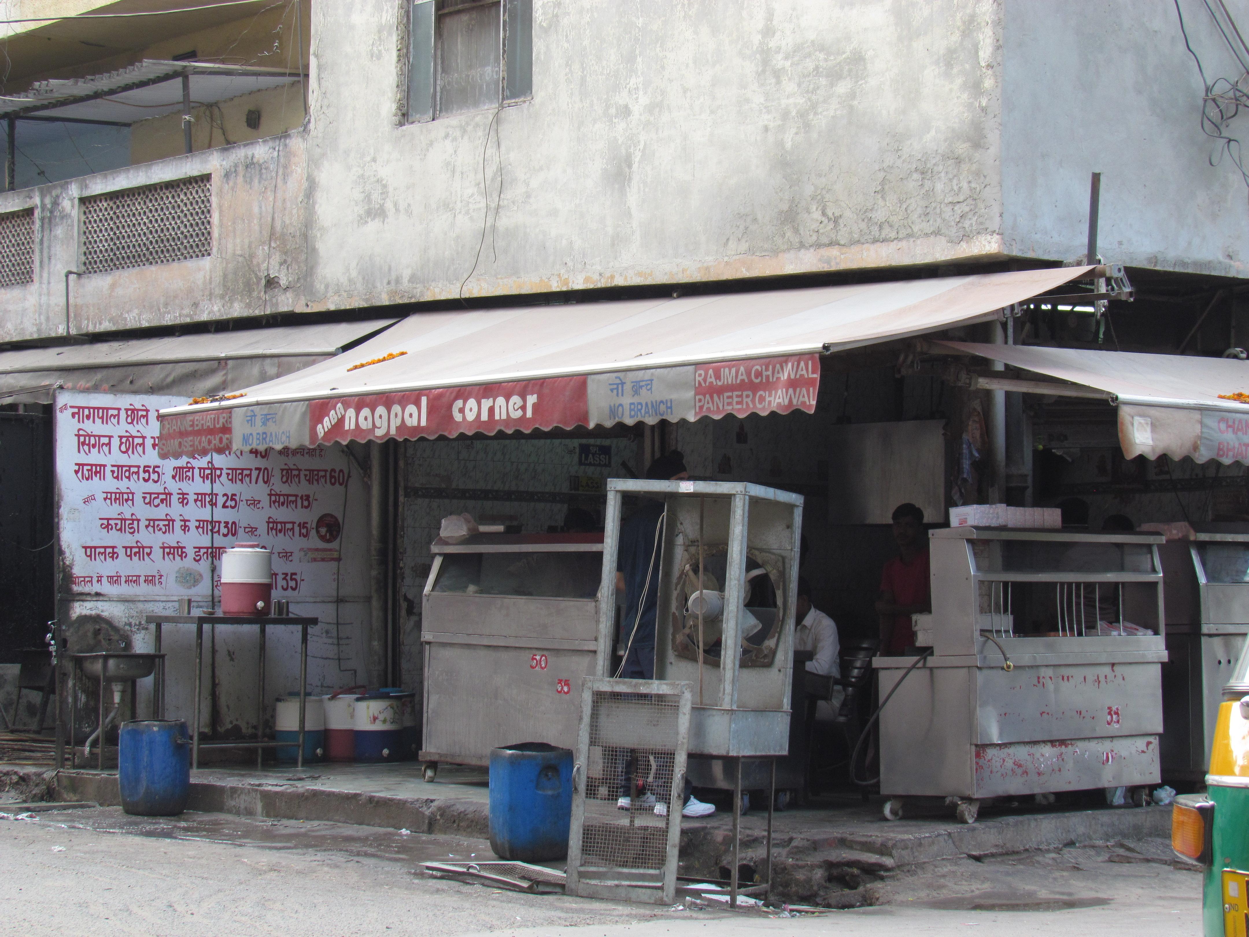 Baba Nagpal Corner 7 25 Old Double Storey Gupta Market Lajpat
