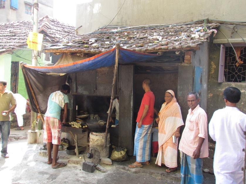 Siraj bhai's shack