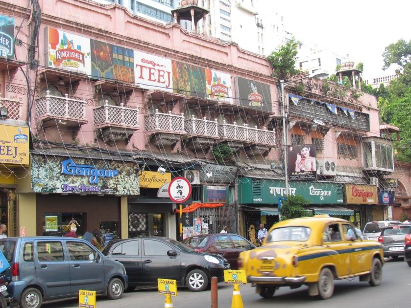 Gangaur Building at Russell street