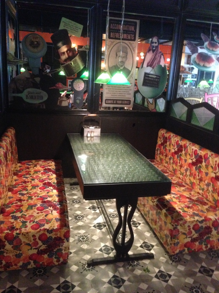 A typical cubicle at sodabottleopenerwala