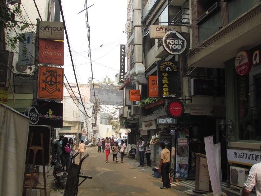 Diva Piccola signage in Hauz Has Village