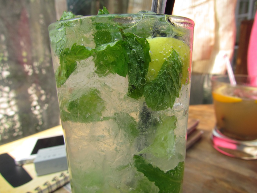 Bashirah virgin mojito with preserved lemon