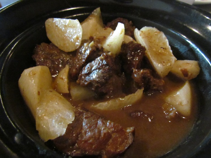 grandma's special Stewed tenderloin with radish