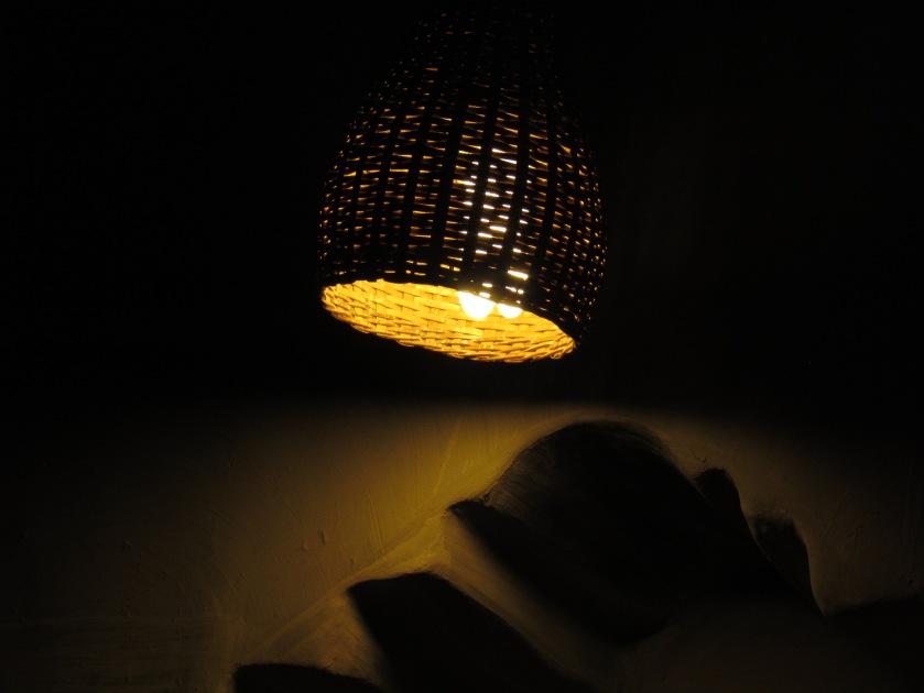 lamp shade made locally