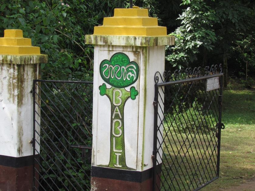 Entrance to Babli gram