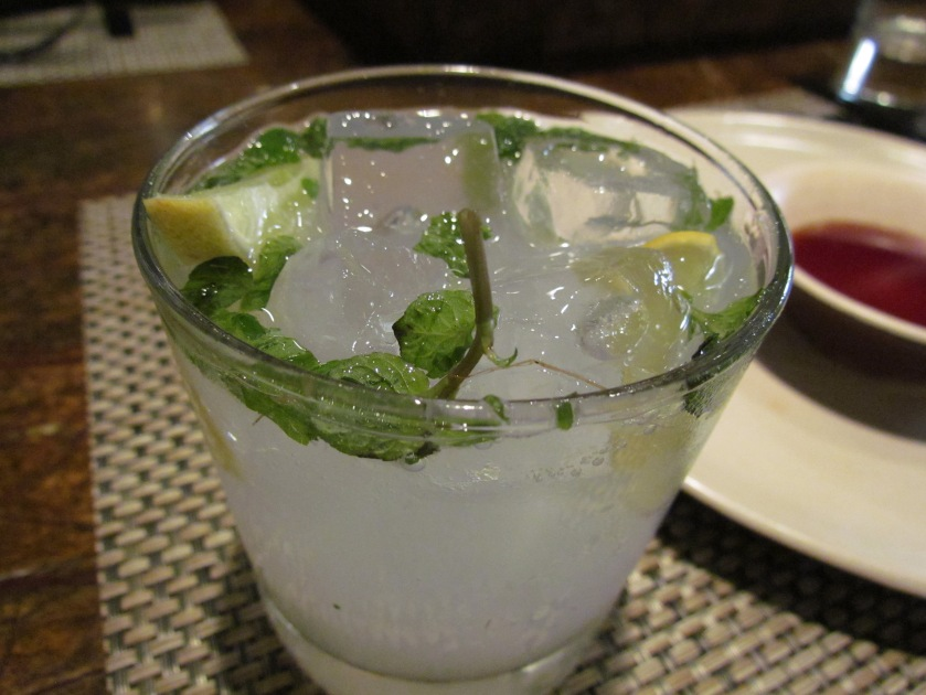 Juicy julep ginger ale lemonade