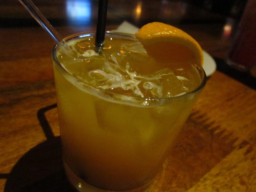 mixed citrus juice with bitters