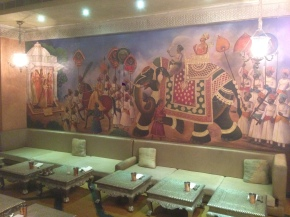 Rajasthan Food Restaurant (Culture Gully, Kingdom of dreams, Gurgaon).