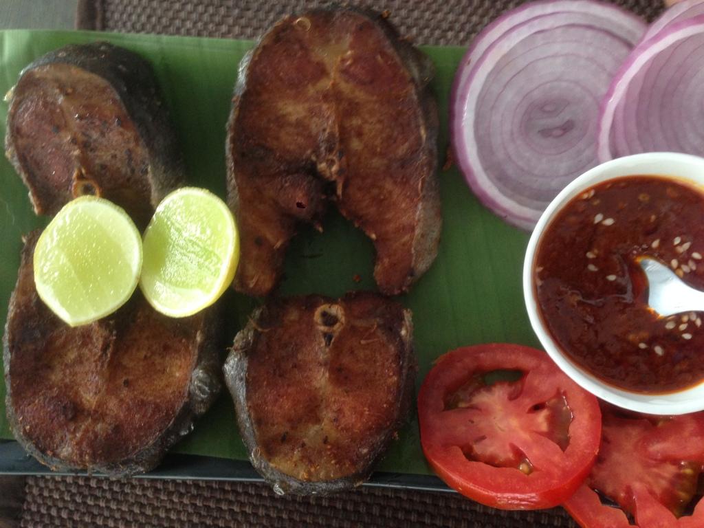 fried fish Tripura style