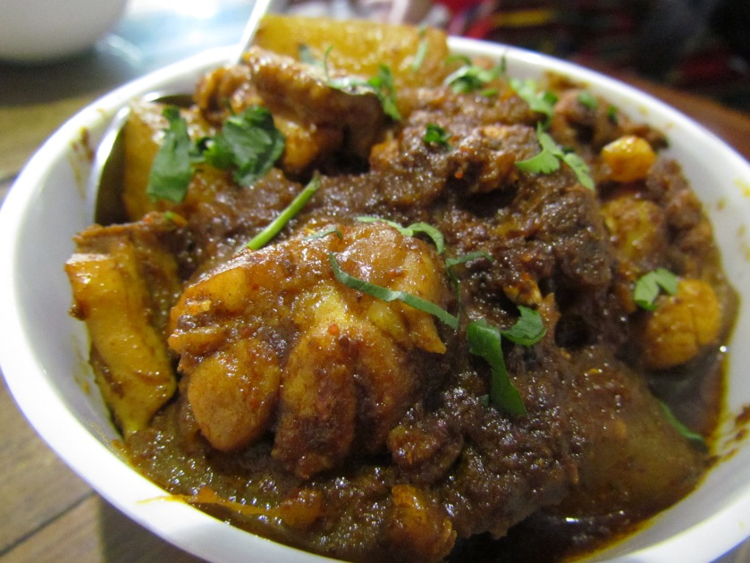 Kumura ha mankho - chicken curry