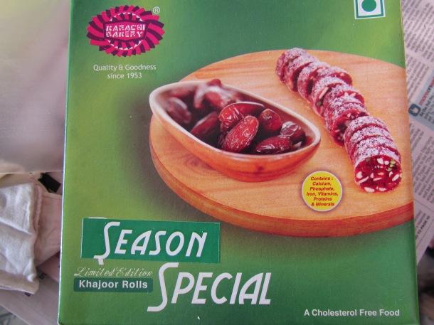 Packaging of Khajoor Rolls