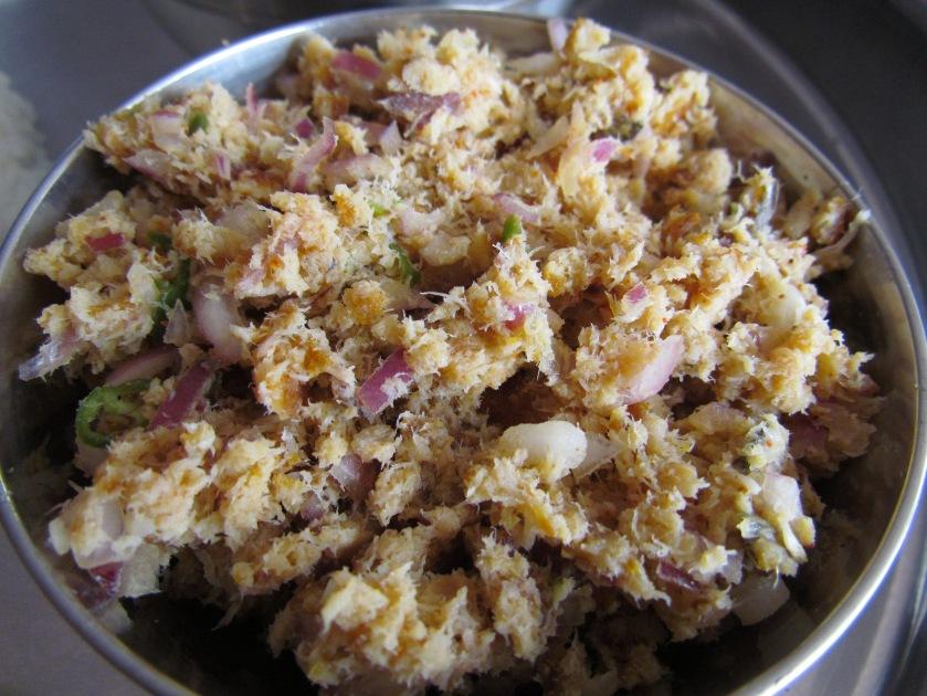 Fish bharta
