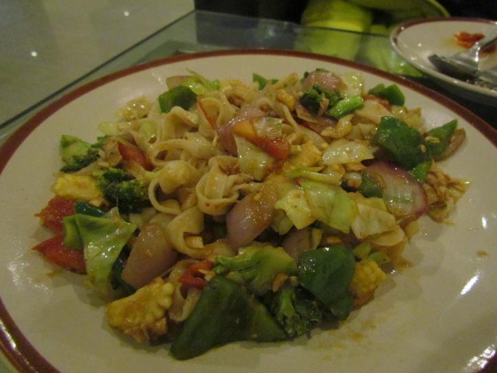 Dry gyathuk flat noodles