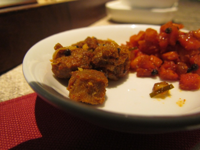 tuna achaar & carrot pickle