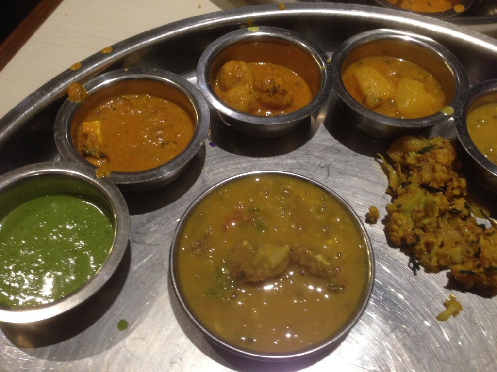 a part of the thali